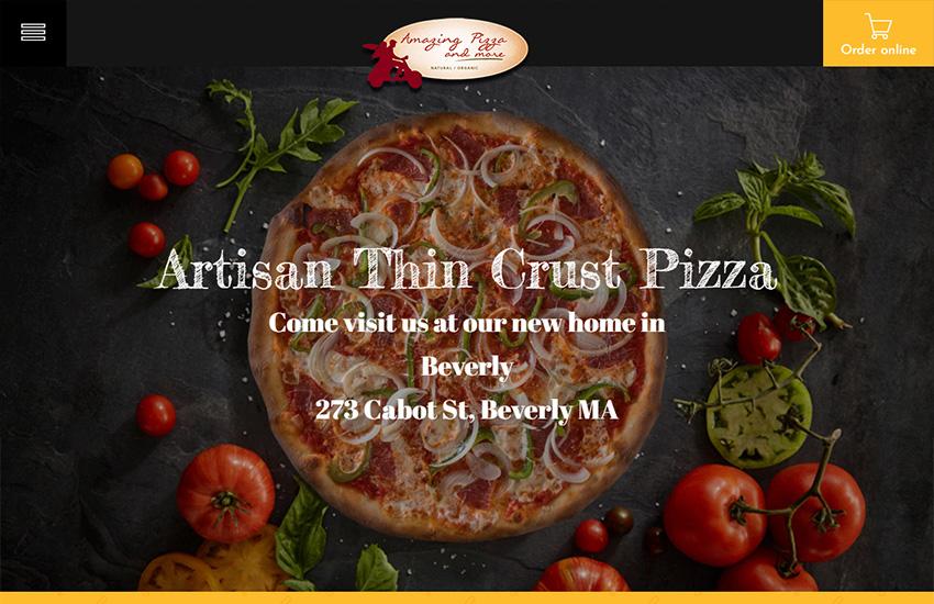 Artisan Thin Crust Pizza - Amazing Pizza